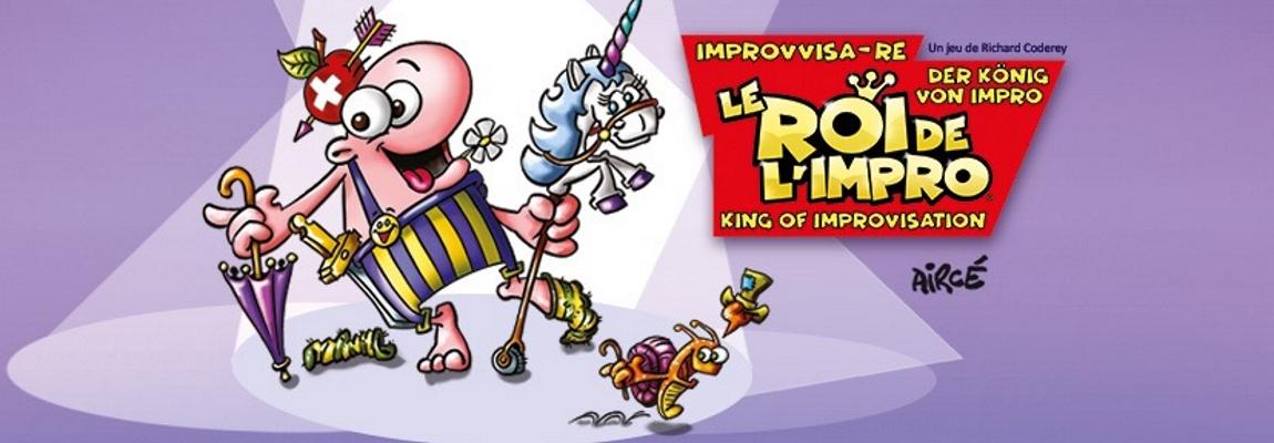 Le Roi de l'Impro nouveau est arrivé !