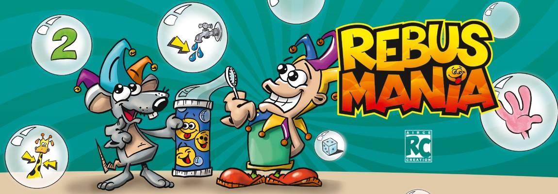 Rebus Mania – Jeu de cartes d'ambiance et dynamique !